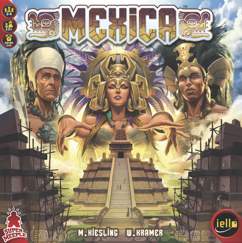 Monopolis Mexica Base Tabletop, Board and Card Game