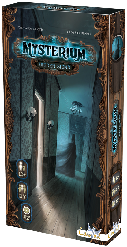 Monopolis Mysterium: Hidden Signs Expansion Tabletop, Board and Card Game