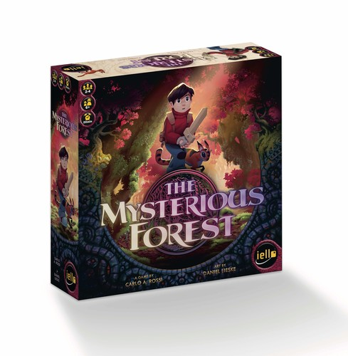 Monopolis The Mysterious Forest Board Game Base Tabletop, Board and Card Game