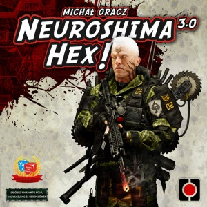 Monopolis Neuroshima Hex! 3.0 Board Game Base Tabletop, Board and Card Game
