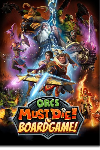 Monopolis Orcs Must Die!: Order Board Game Base Tabletop, Board and Card Game