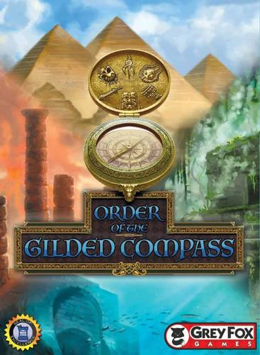Monopolis Order of the Gilded Compass Base Tabletop, Board and Card Game