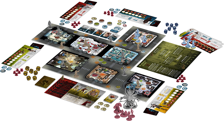 Monopolis The Others 7 Sins Board Game Base Tabletop, Board and Card Game