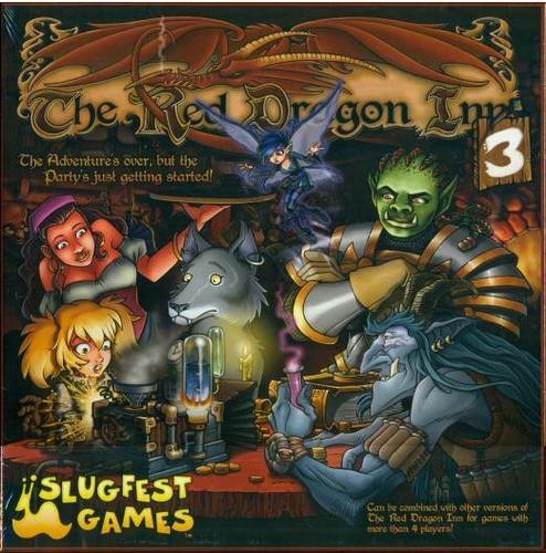 Monopolis The Red Dragon Inn 3 Board Game Base Tabletop, Board and Card Game