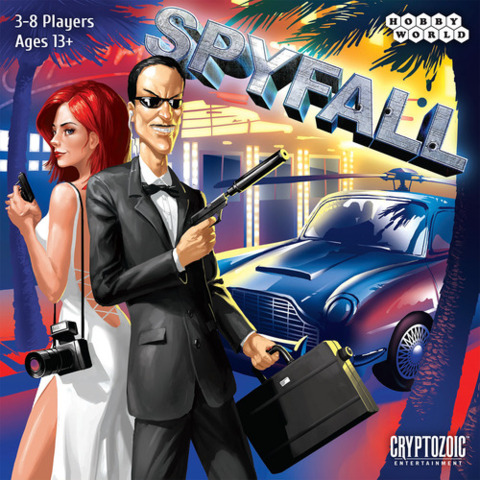 Monopolis Spyfall Base Tabletop, Board and Card Game