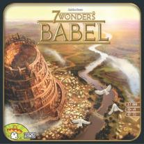 Monopolis 7 Wonders Babel Expansion Board and Card Game