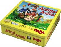 Monopolis Animal Upon Animal Base Tabletop, Board and Card Game
