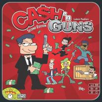 Monopolis Cash and Guns 2nd Edition Base Tabletop, Board and Card Game