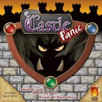 Monopolis Castle Panic Base Tabletop, Board and Card Game