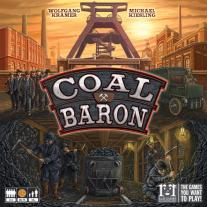 Monopolis Coal Baron Base Tabletop, Board and Card Game