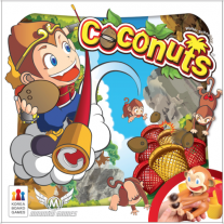 Monopolis Coconuts Base Tabletop, Board and Card Game