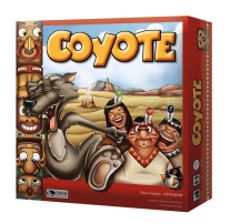 Monopolis Coyote Base Tabletop, Board and Card Game