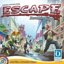 Monopolis Escape Zombie City Base Tabletop, Board and Card Game