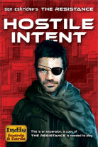 Monopolis The Resistance Hostile Intent Expansion Tabletop, Board and Card Game