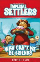 Monopolis Imperial Settlers Why Can't We Be Friends Expansion Tabletop, Board and Card Game