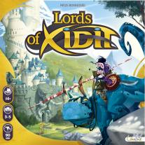 Monopolis Lords of Xidit Base Tabletop, Board and Card Game