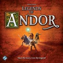 Monopolis Legend of Andor Base Tabletop, Board and Card Game