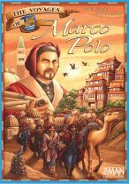 Monopolis The Voyages of Marco Polo Base Tabletop, Board and Card Game