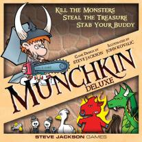 Monopolis Munchkin Deluxe Base Tabletop, Board and Card Game