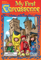 Monopolis My First Carcasonne Base Tabletop, Board and Card Game