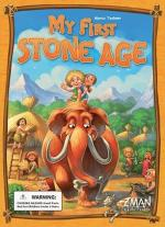 Monopolis My First Stone Age Base Tabletop, Board and Card Game