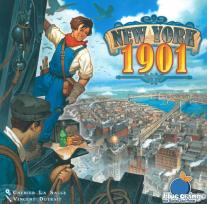Monopolis New York 1901 Base Tabletop, Board and Card Game