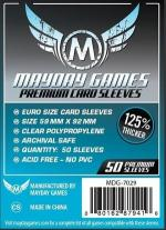 Monopolis Mayday Premium Euro 59x92 Card Sleeve Board Game Accessories