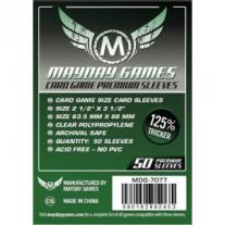 Monopolis Mayday Premium 63.5x88 Card Sleeve Board Game Accessories