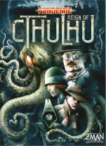 Monopolis Pandemic Reign of Cthulhu Base Tabletop, Board and Card Game