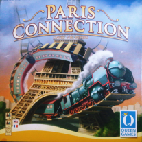 Monopolis Paris Connection Base Tabletop, Board and Card Game