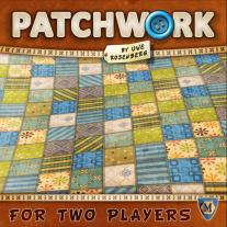 Monopolis Patchwork Base Tabletop, Board and Card Game