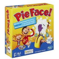 Monopolis Pie Face Base Tabletop, Board and Card Game