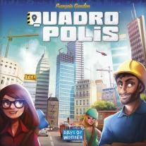 Monopolis Quadropolis Base Tabletop, Board and Card Game