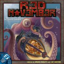Monopolis Red November Revised Base Tabletop, Board and Card Game