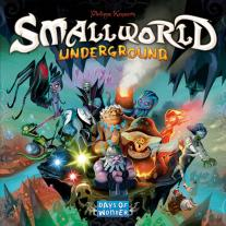 Monopolis Small World Underground Base Tabletop, Board and Card Game
