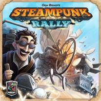 Monopolis Steampunk Rally Base Tabletop, Board and Card Game