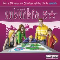Monopolis Suburbia 5 Star Expansion Tabletop, Board and Card Game