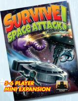 Monopolis Survive Space Attack 5-6 Players Expansion Tabletop, Board and Card Game
