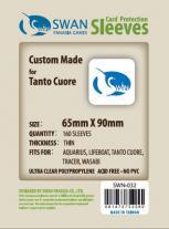 Monopolis Swan Panasia Tanto Cuore Thin 65x90 Card Sleeve Board Game Accessories
