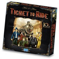 Monopolis Ticket to Ride 10th Anniversary Base Tabletop, Board and Card Game