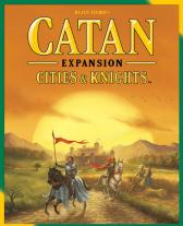 Monopolis Catan Cities & Knights Expansion Tabletop, Board and Card Game
