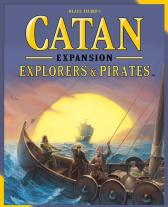 Monopolis Catan Explorers & Pirates Expansion Tabletop, Board and Card Game