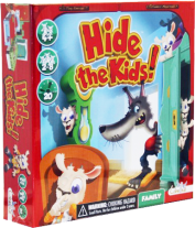 Monopolis Hide the Kids Base Tabletop, Board and Card Game