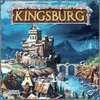 Monopolis Kingsburg Base Tabletop, Board and Card Game