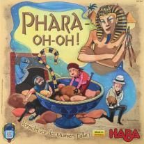 Monopolis Pharaoh's Gulo Gulo Base Tabletop, Board and Card Game