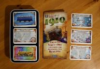 Monopolis Ticket To Ride USA 1910 Expansion Tabletop, Board and Card Game