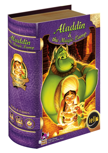 Monopolis Tales & Games: Aladdin & the Magic Lamp Board Game Base Tabletop, Board and Card Game