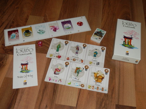 Monopolis Tokaido: Crossroads Expansion Board Game Base Tabletop, Board and Card Game