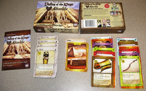 Monopolis Valley of the Kings: Afterlife Card Game Base Tabletop, Board and Card Game