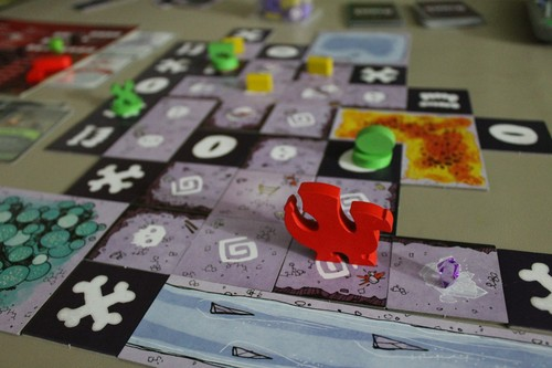 Monopolis Vast The Crystal Caverns Board Game Base Tabletop, Board and Card Game